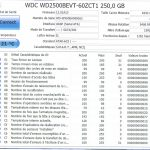 Disque dur WD2500BEVT
